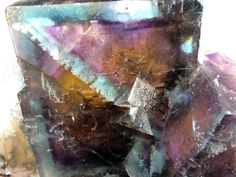 13 x 11 x 10cm. Superb Multi-Colour Fluorite, Hardin County, Illinois