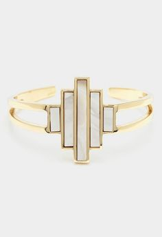 Gold Bali Cuff---my perfect dream would involve some handsome stranger who bought all the jewelry off this board.sighhh