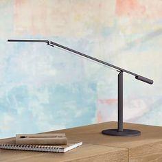 Koncept Gen 3 Equo in Black Warm Light LED Desk Lamp