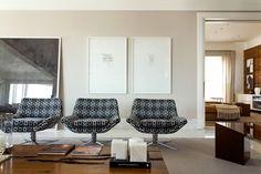 Decoração de Interiores em Apartamento Jardins - Decoradora de Interiores Marilia Veiga