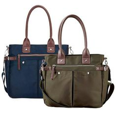 Avon's Ultimate Utility Tote available in blue and green. Get it now for $19.99 with any $15+ purchase in campaign 2. Purchase alone for $39.99. #lovingmineinblue #getit #newyear #newyou