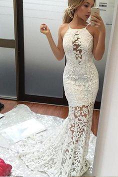 Mermaid Prom Dresses, Custom Made Wedding Dresses, Wedding Dresses Long, White Wedding Dresses, Prom Dresses 2019, Prom Dresses Lace #Prom #Dresses #2019 #Wedding #Long #White #Lace #Mermaid #Custom #Made #WhiteWeddingDresses #CustomMadeWeddingDresses #MermaidPromDresses #PromDresses2019 #WeddingDressesLong #PromDressesLace