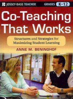 Guaranteed success for the co-taught classroom For the increasing number of teachers working in co-taught classrooms, this book provides practical ideas for defining teacher roles, planning lessons, p