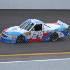 Max's made in USA Truck. First race in NASCAR's Camping World Series 2012.