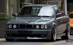 E34  love the 540i e34   was my first real car bonded with   the original car i had?  not crashed its stored   the one i got rid of?  had same vin number   took it off the other   laughing   not illegal i own both!