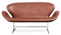 Arne Jacobsen Swan Sofa: Remodelista
