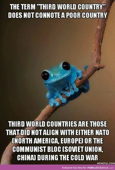 Something you should know when talking about countries