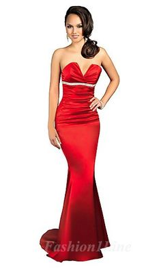 #red #dress red LOOK at the website