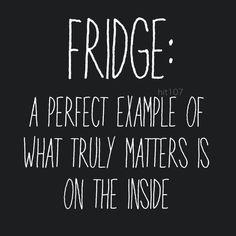 Fridge quote