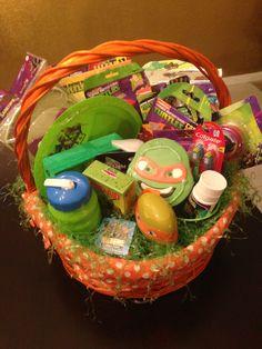 Ninja turtle easter basket simply beautiful pinterest easter teenage mutant ninja turtle easter basket negle Gallery