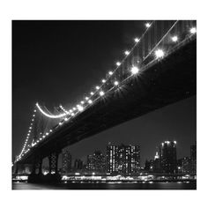 Brooklyn Bridge Wall Mural ($78) ❤ liked on Polyvore featuring home, home decor, wall art, wall murals, home wall decor, interior wall decor and mounted wall art