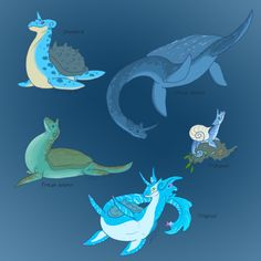 awesome lapras variations