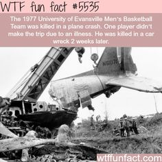 Real life final destination - WTF fun facts
