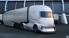 Ford Unveils Wild F-Vision Electric Semi Truck 23 H BY MARK KANE Ford hints at a Tesla Semi contender Ford Trucks (in fact, Turkish Ford Otosan) unveiled at the 2018 IAA a concept semi-trailer truck,. Electric Semi Truck, Ford Electric, Electric Cars, Big Rig Trucks, Semi Trucks, Monster Truck Birthday, Monster Trucks, Lego Birthday, Diesel Trucks