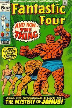 Fantastic Four #107. #FantasticFour