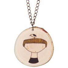 Depeapa wooden Girl necklace, little moose website, TONS of cute stuff!
