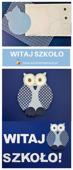 Dekoracja szkolna z sową - Witaj szkoło - www.szkolneinspiracje.pl Clip Art, Clothes, Outfits, Clothing, Kleding, Outfit Posts, Coats, Pictures, Dresses