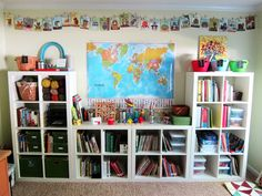 Like the way the shelves are set up.  Potentially for future home or even for the daycare