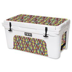MightySkins Protective Vinyl Skin Decal for YETI Tundra 65 qt Cooler wrap cover sticker skins Color Bridge *** Want additional info? Click on the image.-It is an affiliate link to Amazon. #CampKitchenEquipment