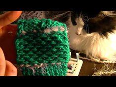 (2) Loom Knitting HONEY COMB STITCH - YouTube Loom Knitting Stitches, Honeycomb, Youtube, Honeycombs, Youtubers, Honeycomb Pattern, Youtube Movies