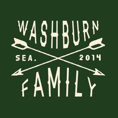 Vintage style family reunion t-shirt. #FamilyReunionTShirt #ArrowTShirt