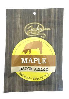 Bacon Jerky, Pork Jerky, Best Jerky, Sugar Love, Thick Cut Bacon, Best Bacon, Celery Juice, Gourmet