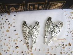 Zakka angel wings alloy diy bling phone deco  | chriszcoolstuff - Craft Supplies on ArtFire Shabby Chic Cottage, Angel Wings, Phone Covers, Craft Supplies, Angels, Bling, Diy Crafts, Deco, Medium