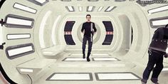 When he showed off his mad dance skills on the set of Star Trek: Into Darkness.