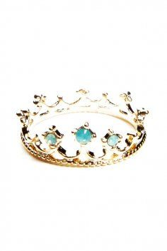 Princess Gold Ring - Bling Gold Ring