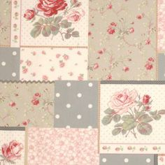 Rowan Patchwork in Red Fabric from www.jim-lawrence.co.uk #valentine