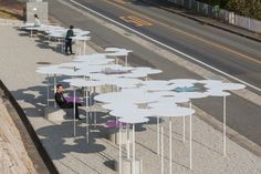 Furniture Buy Now Pay Later Pavilion Architecture, Landscape Architecture, Landscape Design, Architecture Design, Garden Design, Urban Furniture, Street Furniture, Japan Design, Urban Rooms