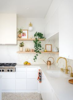 House Reveal: Our Kitchen - Oh Joy! Modern Farmhouse Kitchens, Kitchen Remodel, Home And Garden, House Design, Interior, Joy, Table, Inspiration, Furniture
