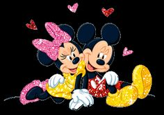 Mickey & Minnie Mouse Love Greetings