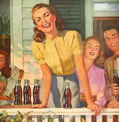Come on over… have a Coke! 1947