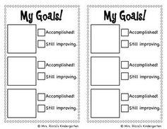 Goal Setting Checklist FREEBIE! | Goal settings, Student goals and ...