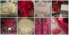 Red n White Bday decor PRO - Home