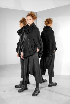 Rundholz Mainline Black Knitted Tunic - Tiefschwarz