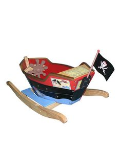 Only available for a few days!Take a look at this Pirate Boat Rocker Set by Teamson Design on #zulily today!