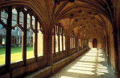 Lacock Abbey, Wiltshire, UK.