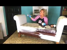 Don't throw out your torn vinyl & leather furniture until you see this EASY DIY fix! - YouTube