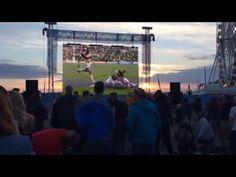 ラグビーワールドカップ2015 日本 vs 南アフリカ 勝利の瞬間(現地) Rugby world cup 2015 Japan vs South Africa at the stadium - YouTube