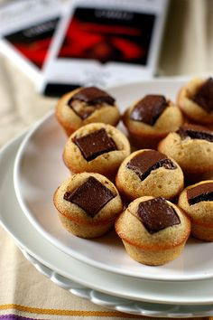 Chili chocolate for financiers by Fresh From The Oven 606, via Flickr