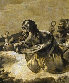 "Francisco de Goya: ""Las parcas, o Átropos"" (The fates or Atropos) (detail) Francisco Goya, Manet, Architecture Tattoo, Portraits, Wedding Humor, Funny Art, Animal Design, 18th Century, Art History"