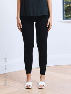 Mela Purdies Seamless Leggings are made from knitted jersey for a soft tactile feel. Pull them on with the matching top when relaxing at the weekend. Seamless Leggings, Skinny Legs, Stretch Fabric, Black Jeans, Tights, Fitness, Model, How To Wear, Fashion