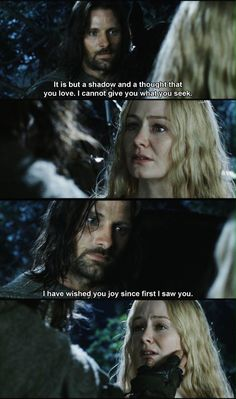 As much as I love Aragorn and Arwen, I felt horrible for Eowyn. But all's well that ends well ... She marries Faramir, who becomes Steward of Gondor during King Elessar Telcontar (Aragorn) of Gondor's rule.