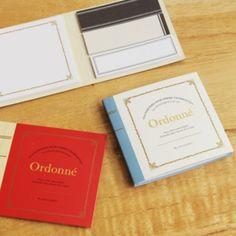 MochiThings.com: Ordonne Sticky Notebook