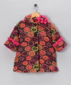 Sweet Pea Coat by Corky & Company on #zulily