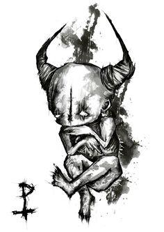 #darkart  #oil  #bipolar #bpd #illustration  #Macabre  #love  #rawmelbourne  #sketch #depression  #cute #grunge #spooky #evil  #creepy #goth  #etsy #art #dark  #gothic  #oilpainting #art #watercolor #watercolour #ink #arte #artist  #rawartists #demon #horror
