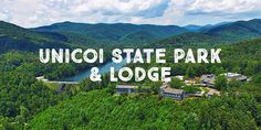 In the Blue Ridge Mountains of Northern Georgia, the Unicoi State Park and Lodge!! We are going here for our 1 year anniversary!