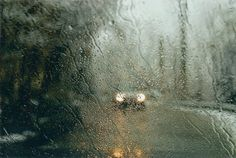 You hope the rain dropes flooding down will cover up your tears on the outside.